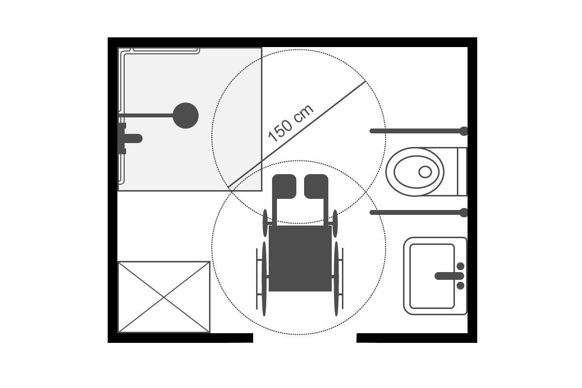 barrierefreies bad einrichten ratgeber. Black Bedroom Furniture Sets. Home Design Ideas