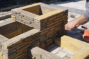 blumentrog selber bauen das betonstein trio anleitung. Black Bedroom Furniture Sets. Home Design Ideas