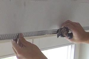kantenschutz anbringen kantenschutzprofil spachteln anleitung. Black Bedroom Furniture Sets. Home Design Ideas