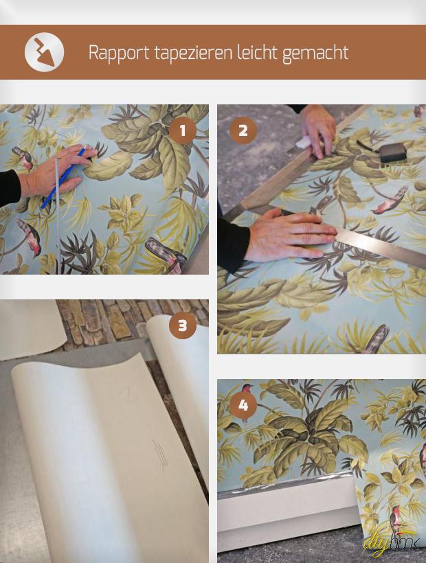 tapezieren leicht gemacht. Black Bedroom Furniture Sets. Home Design Ideas