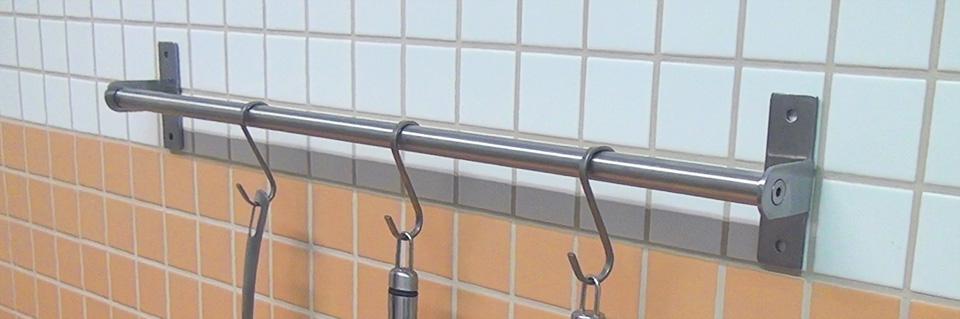 Küchenstange küchenreling ohne bohren befestigen tipps und tricks diybook at