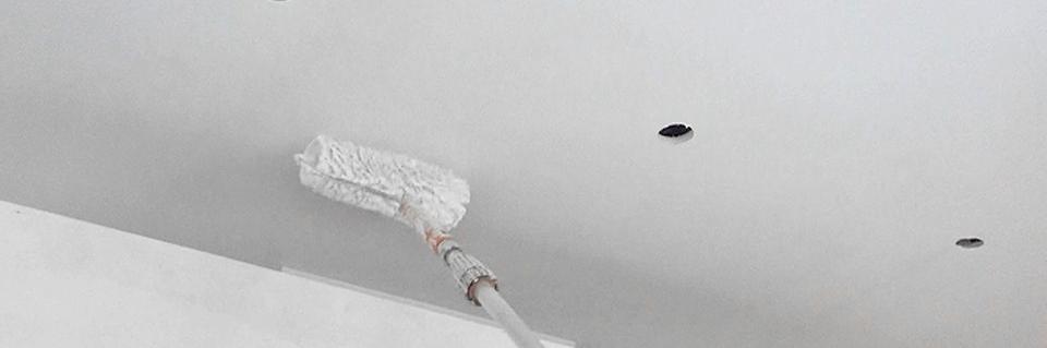 rigipsdecke streichen anleitung tipps. Black Bedroom Furniture Sets. Home Design Ideas