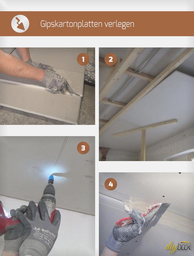 Gipskartonplatten Verlegen Anleitung gipskartonplatten verlegen - tipps & tricks vom maurer | trockenbau
