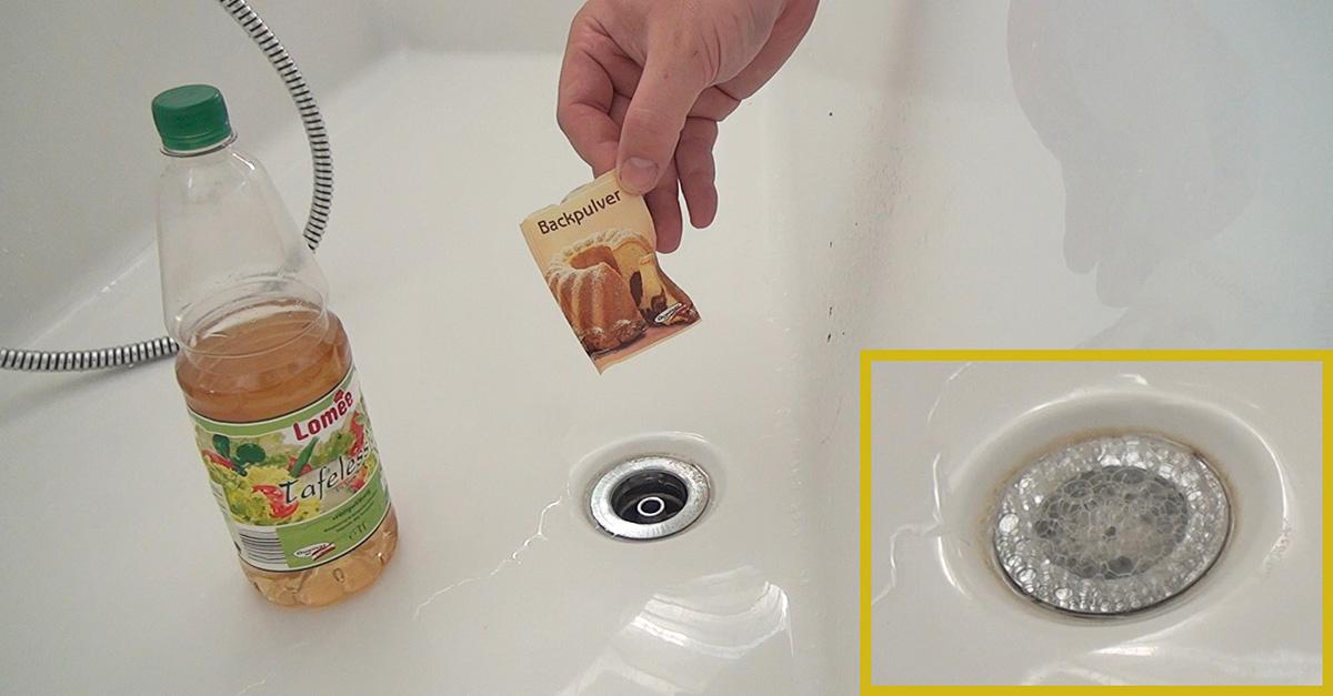 Verstopftes Waschbecken 5 Methoden Den Abfluss Zu Reinigen Ratgeber Diybook At