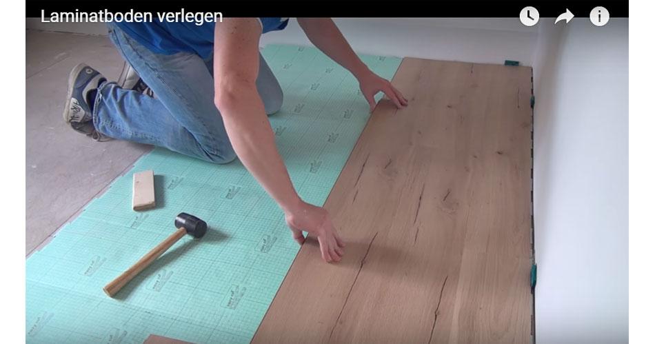 Laminatboden Auf Trockenestrich Verlegen | Video Anleitung @ Diybook.at