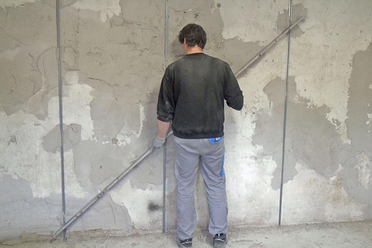 Schnell putzprofile anbringen anleitung und tipps - Wand gerade spachteln ...