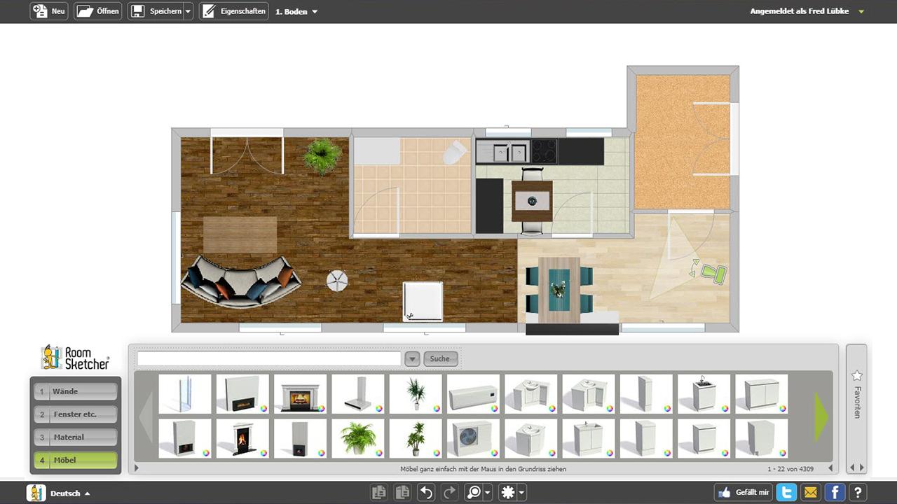 im test virtuelle traumh user selber gestalten in technik bauen wohnen. Black Bedroom Furniture Sets. Home Design Ideas