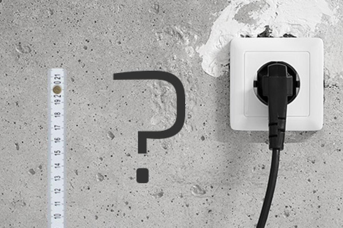Elektro-Installationszonen im Bad @ diybook.at