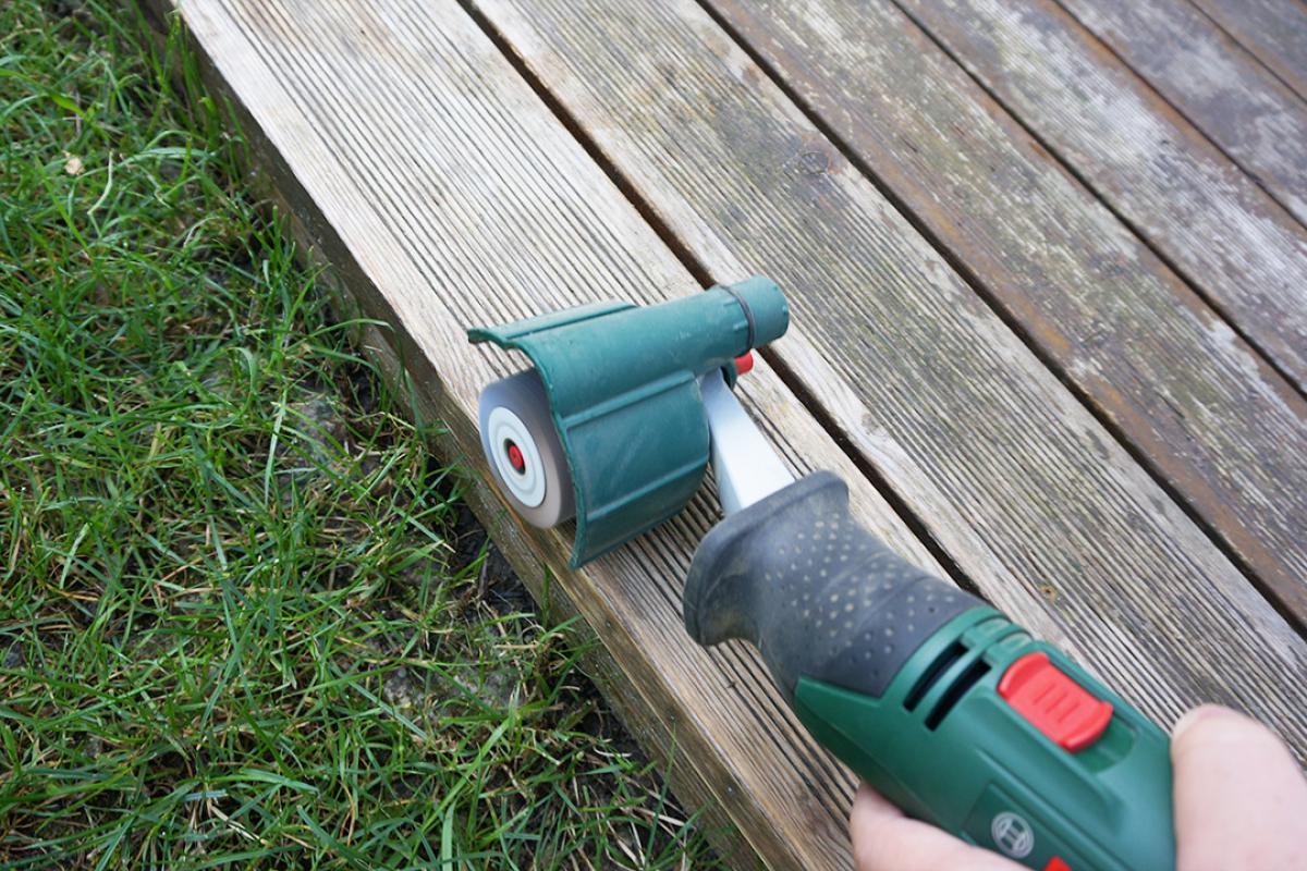 Bevorzugt Holzterrasse ölen - Anleitung & Tipps vom Tischler   Holzterrasse TW03