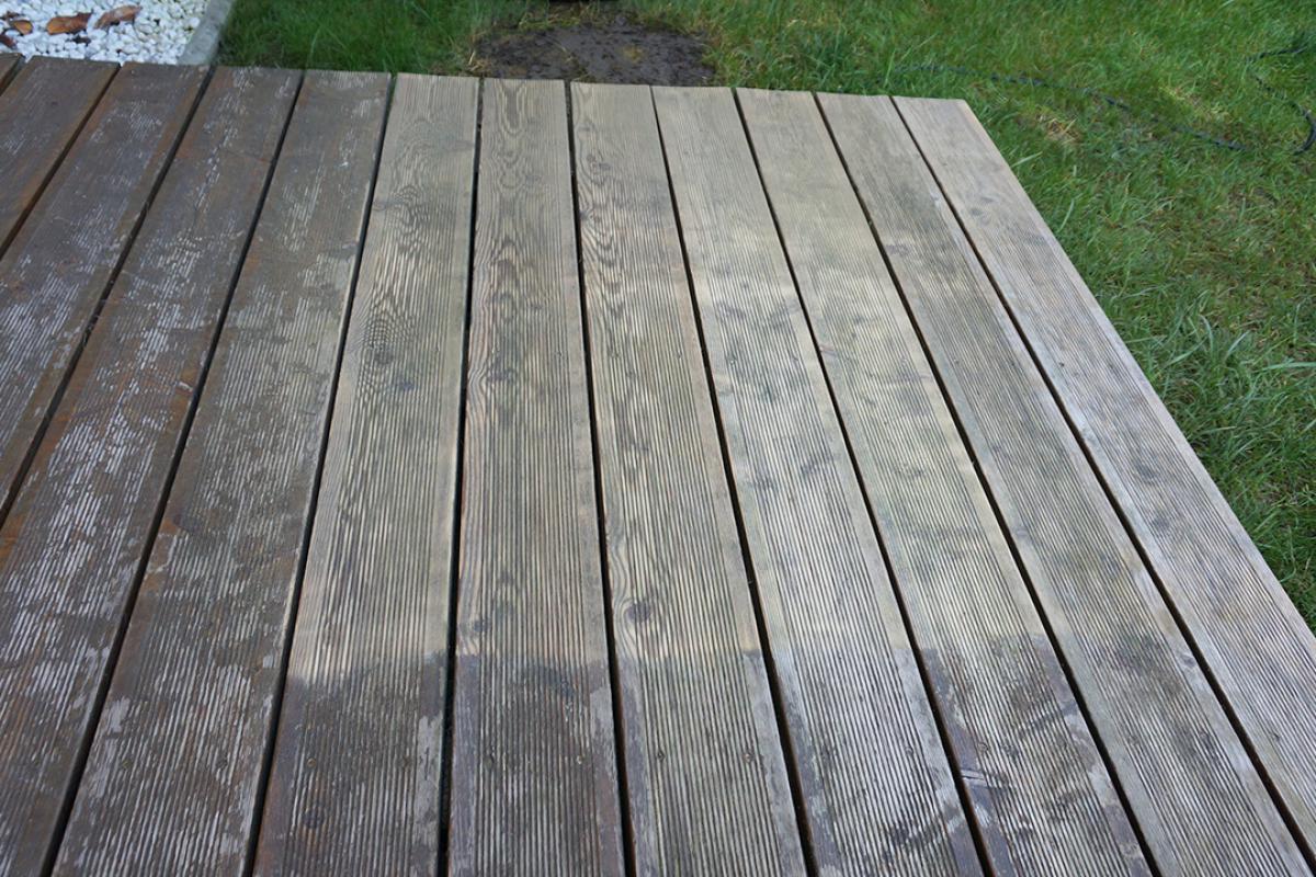 Berühmt Holzterrasse ölen - Anleitung & Tipps vom Tischler   Holzterrasse &KJ_93