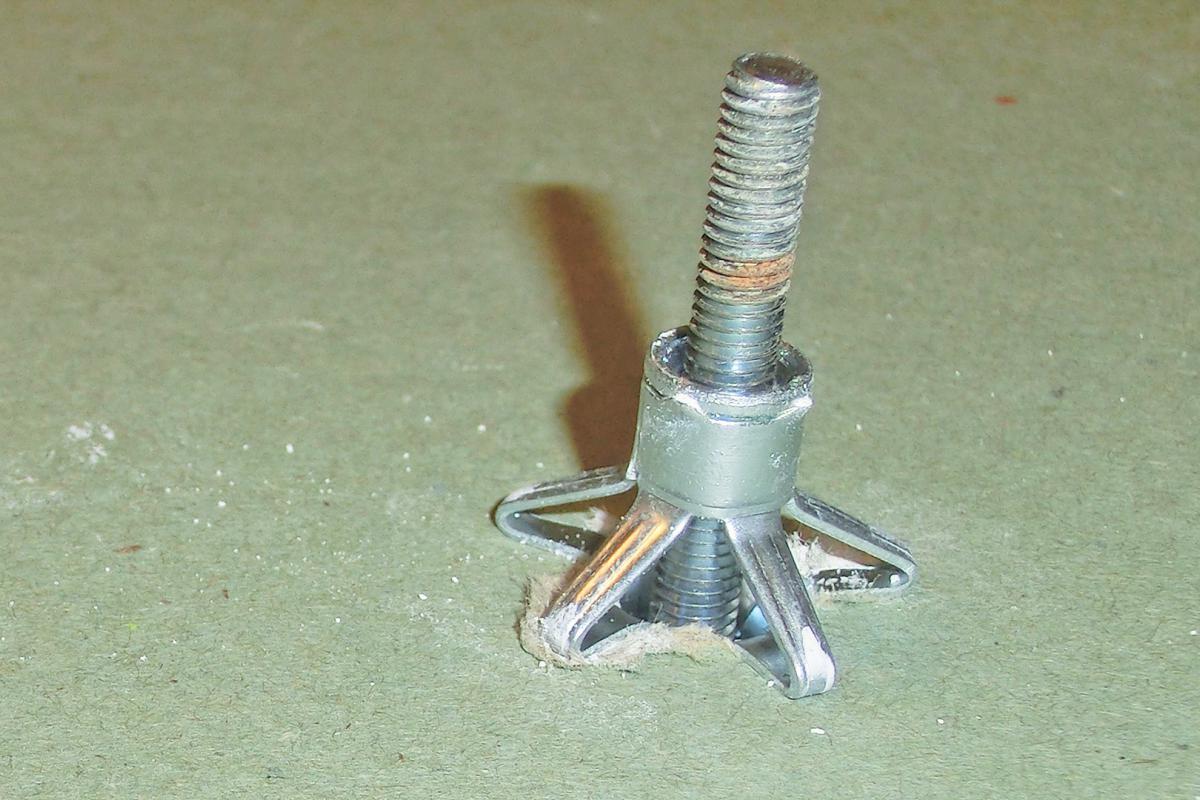 Gipskartondübel Hohlraumdübel Kunststoff mit Schraube Dübel