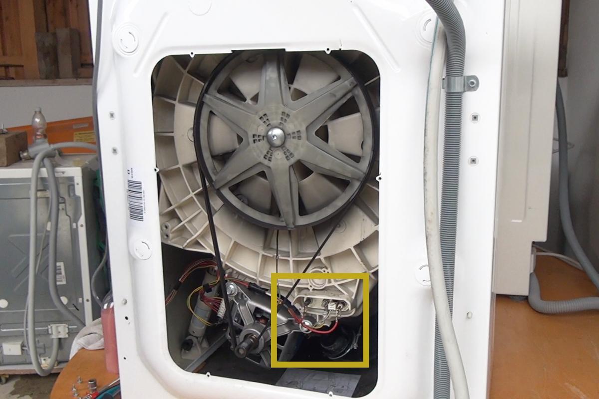 Bevorzugt Die Waschmaschine rattert beim Schleudern - Anleitung @ diybook.at LB41