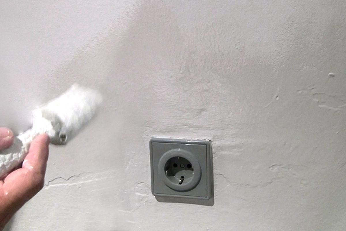 Turbo Wasserflecken an der Wand entfernen (Isolieren) - Anleitung und AW58