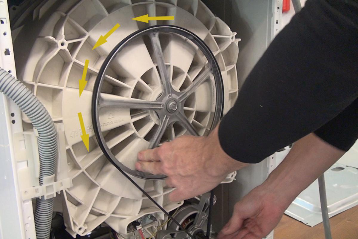 Bekannt Waschmaschine: Trommel dreht sich nicht mehr - Ratgeber @ diybook.at QW33