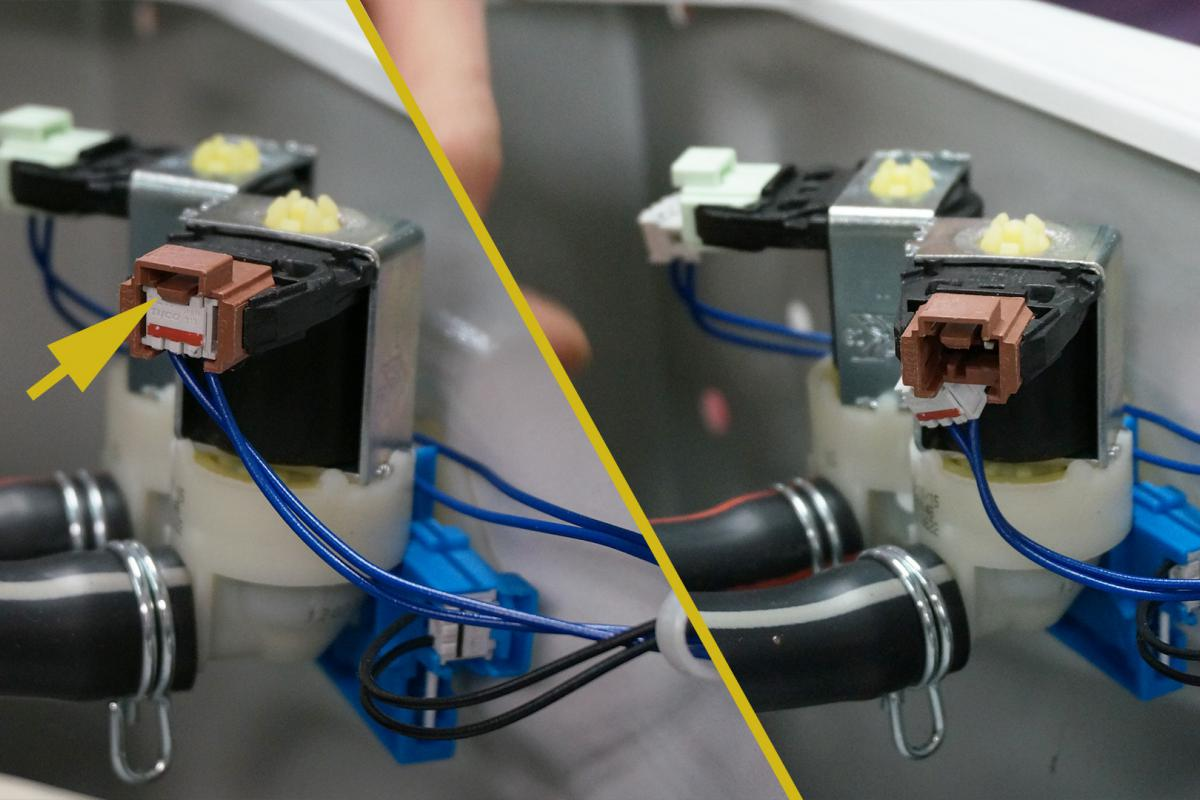Hervorragend AEG Waschmaschine - Magnetventil reparieren. Reparatur-Anleitung SJ21