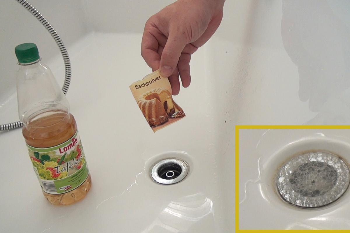 Verstopftes Waschbecken - 5 Methoden, den Abfluss zu reinigen ...