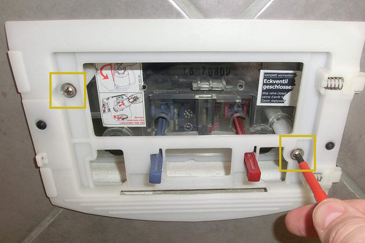 Beliebt Spülkasten undicht - Wenn die Toilettenspülung nachläuft. Schritt OI39