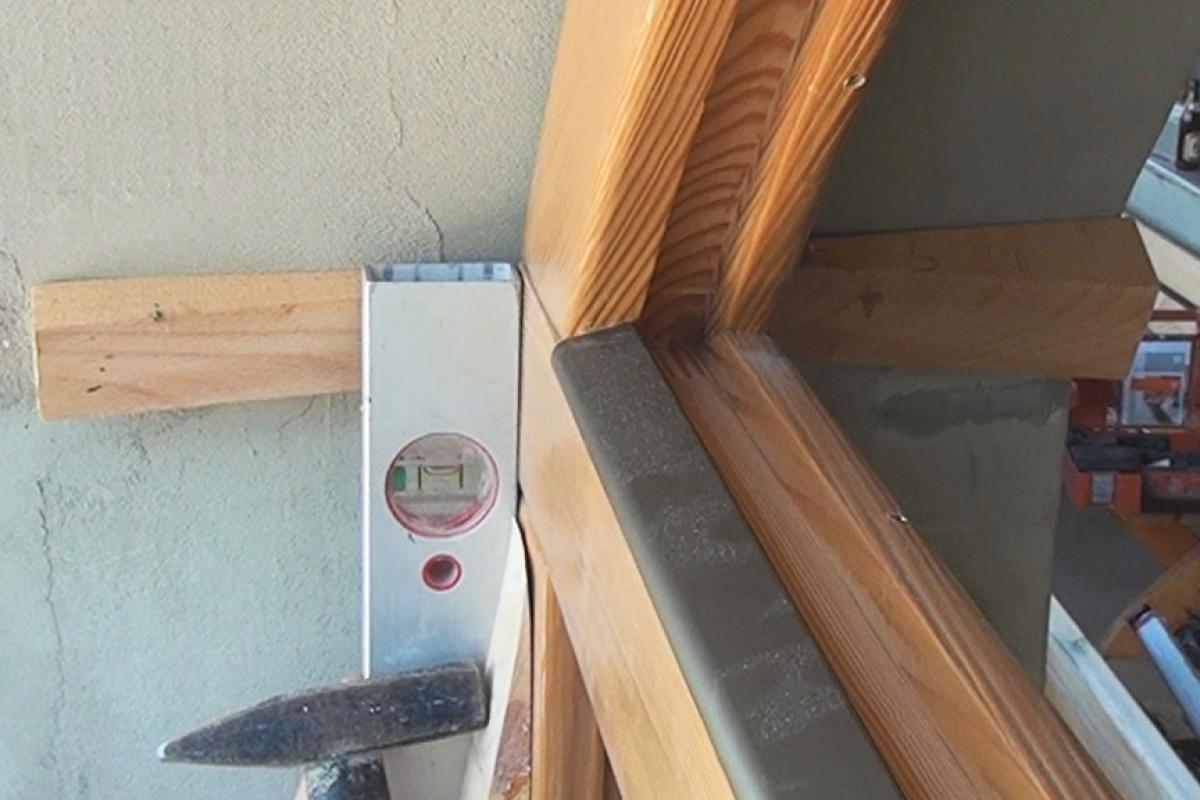 Extrem Arkadenfenster einbauen | Anleitung & Tipps vom Tischler | Bauen EN34