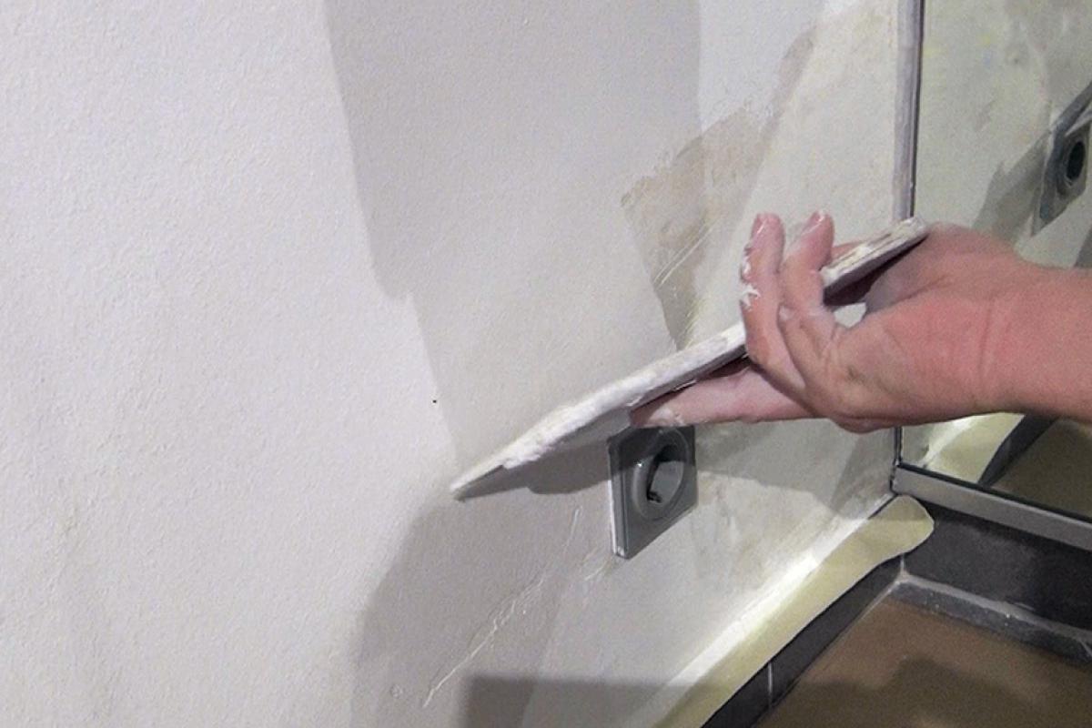 Sehr Wasserflecken an der Wand entfernen (Isolieren) - Anleitung und CU41