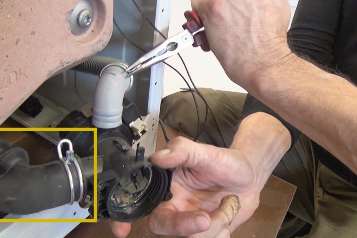 Beliebt Die Waschmaschine pumpt nicht ab - 6 Gründe | Haushaltsgroßgeräte LK29