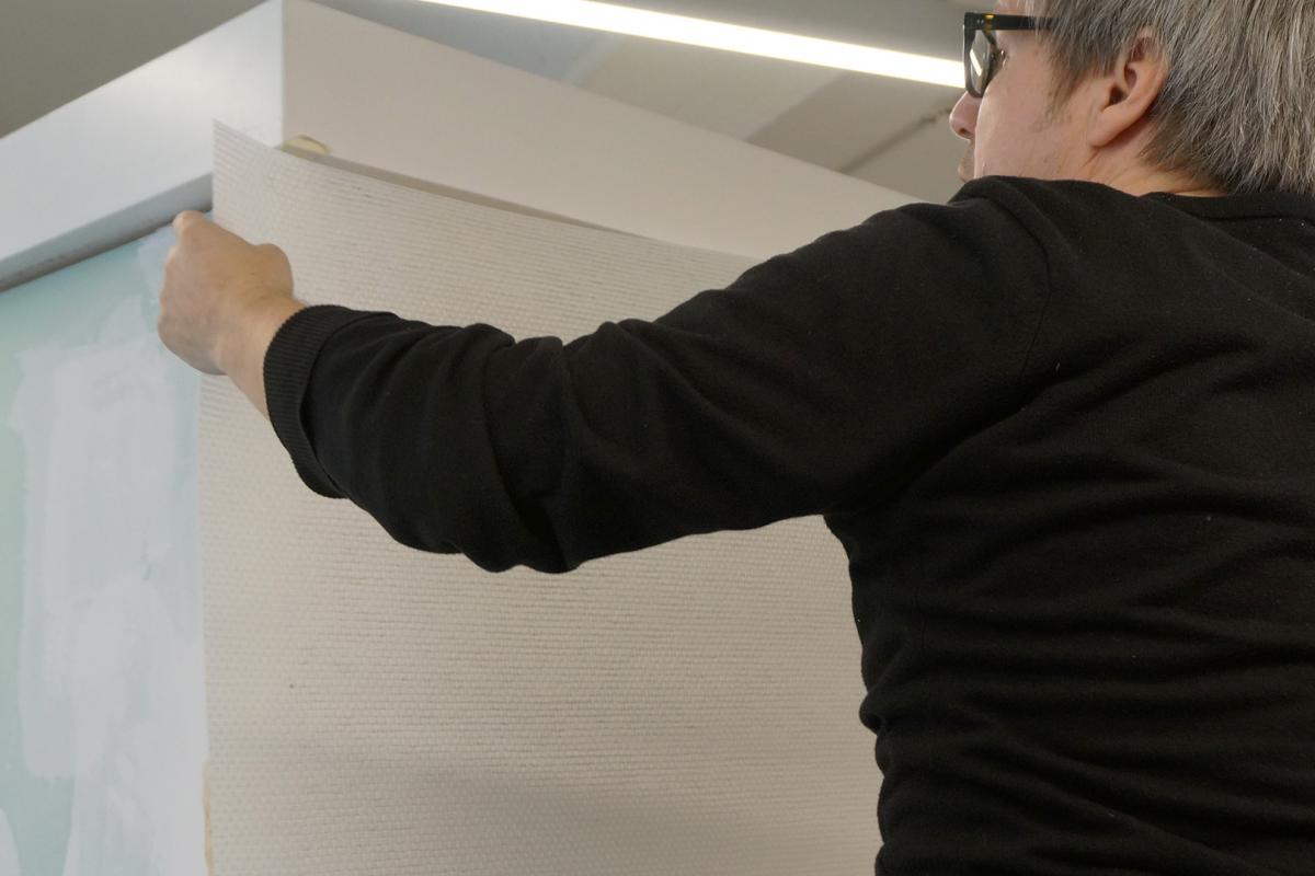 Fabulous Glasfasertapete tapezieren und streichen - Anleitung @ diybook.at UQ33