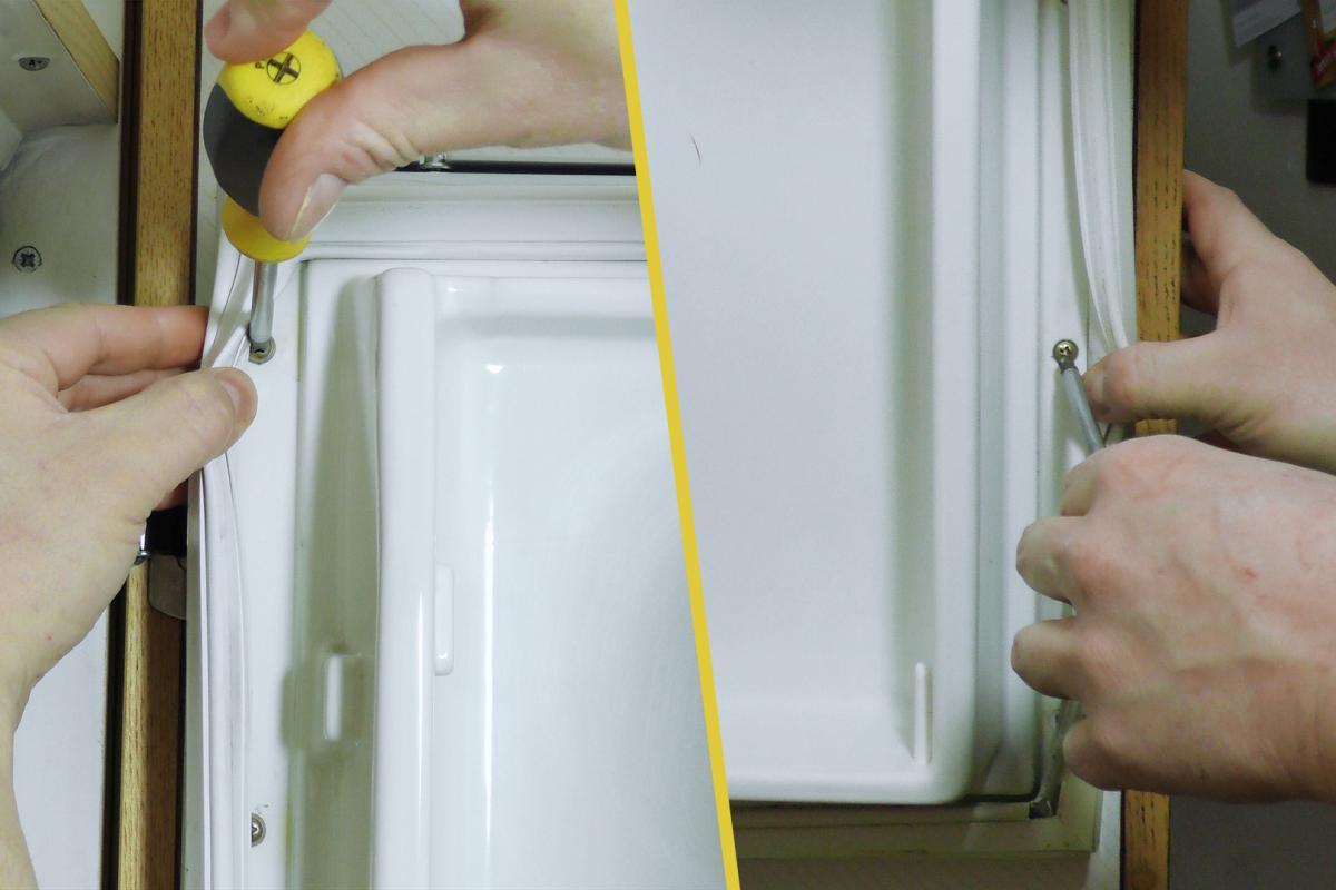 Gut bekannt Kühlschrankdichtung wechseln - Türdichtung - Anleitung @ diybook.at MS59