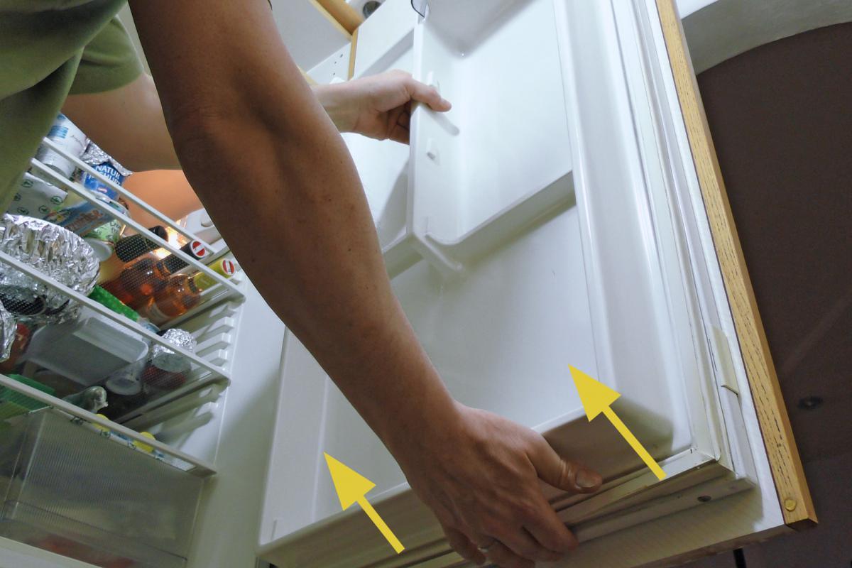 Turbo Kühlschrankdichtung wechseln - Türdichtung - Anleitung @ diybook.at HW92