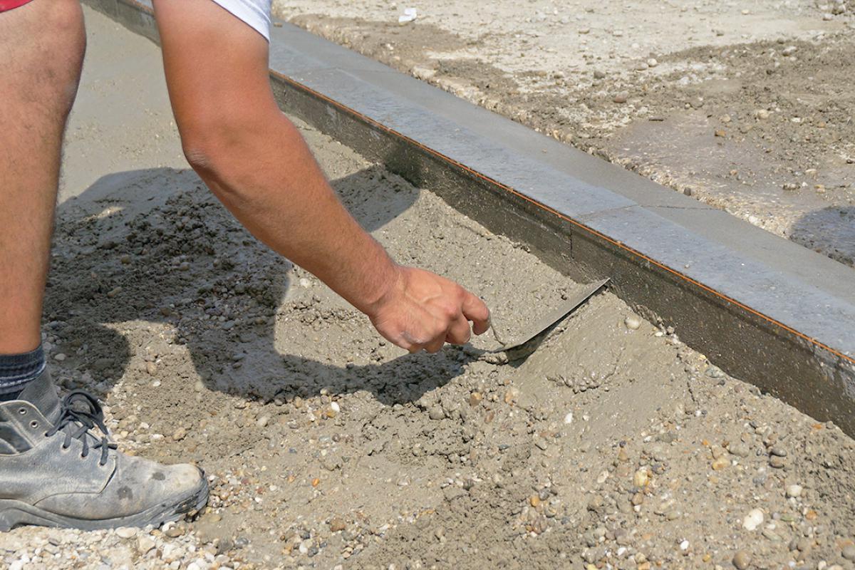 Favorit Randsteine setzen - Anleitung um Betonrandsteine zu verlegen CT12