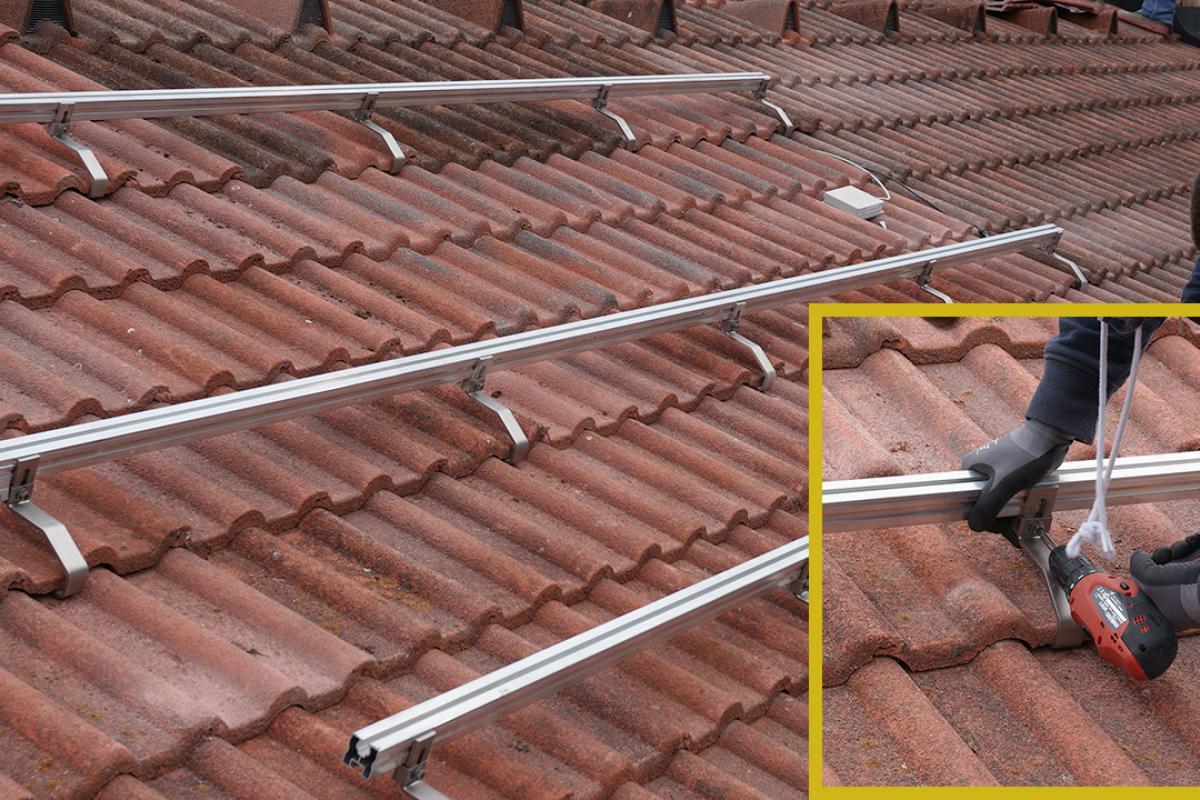 Top Photovoltaik selber montieren - Die Aufdachmontage in Eigenregie OX01