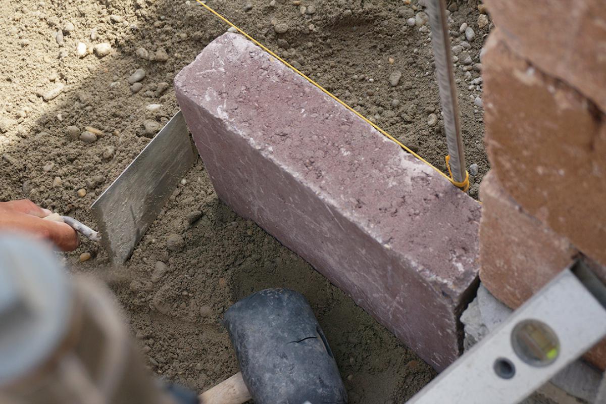 Berühmt Randsteine setzen - Anleitung um Betonrandsteine zu verlegen NW88