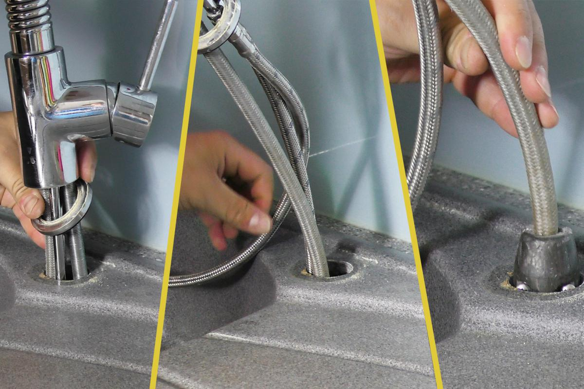 Super Küchenarmatur wechseln - Anleitung @ diybook.at MM44