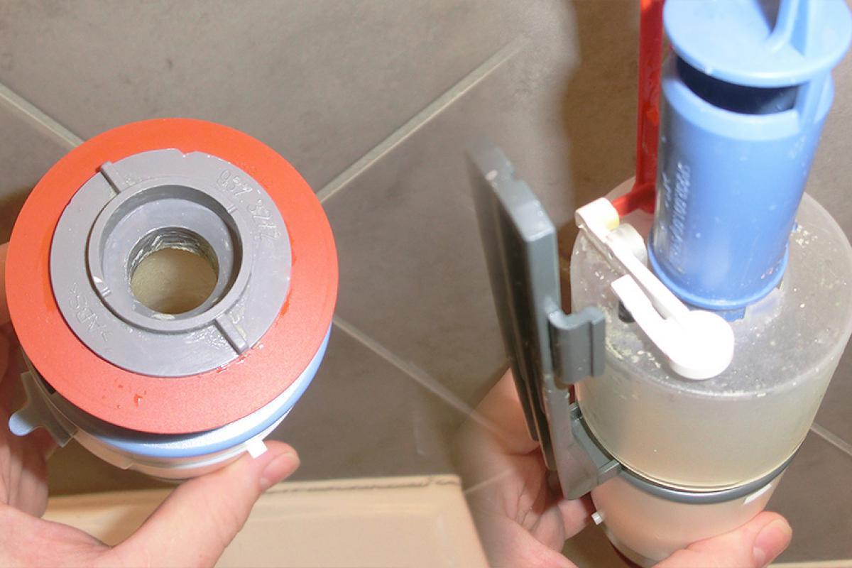 Fabulous Spülkasten undicht - Wenn die Toilettenspülung nachläuft. Schritt SJ25