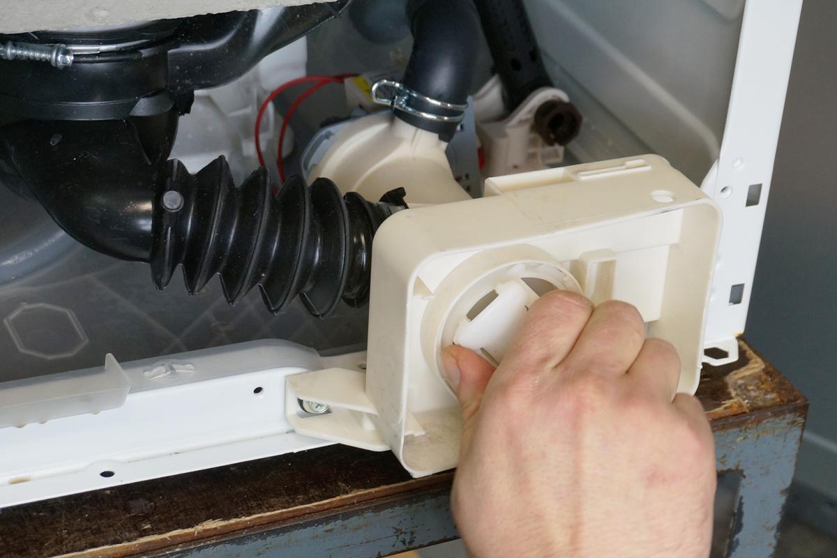 Fabulous AEG Waschmaschine - Pumpe wechseln. Reparatur-Anleitung @ diybook.at GI12
