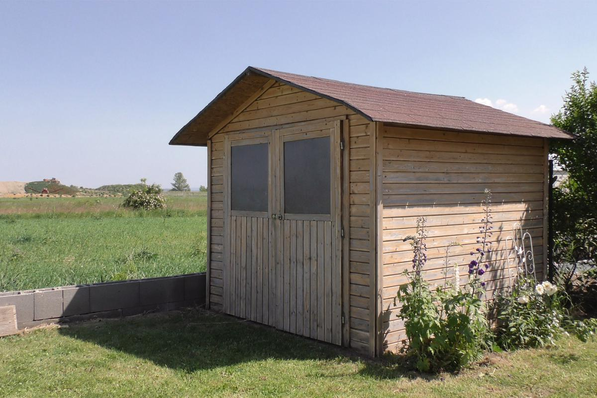 Fabulous Gartenhaus neu streichen: Grundieren und Lasieren - Anleitung RQ89