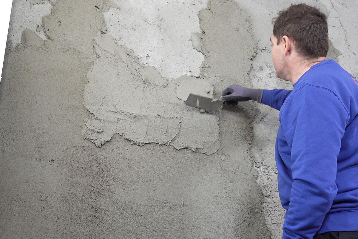 Extrem Feuchte Wand verputzen - Anleitung @ diybook.at MR07