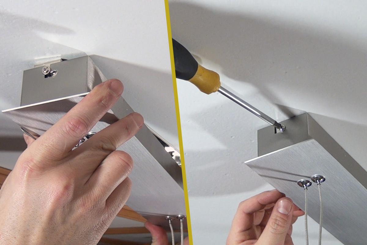 kann man led lampen auf holzdecken montieren