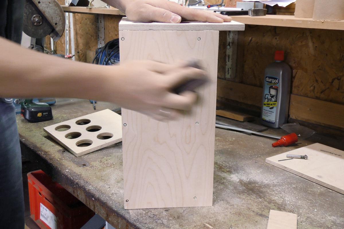 Häufig Werkzeugkiste selber bauen: Die Gewindestangen-Box - Anleitung NV51