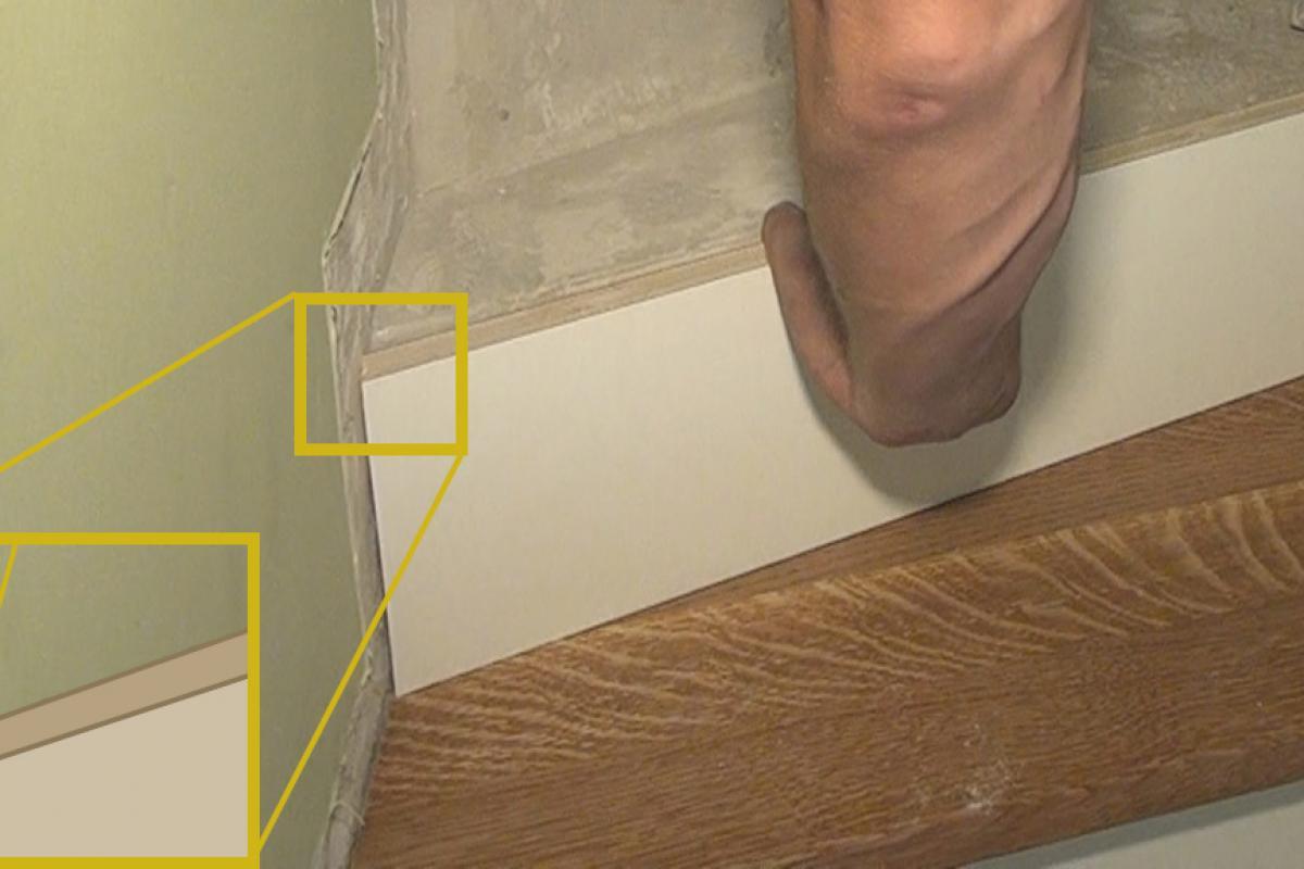 Fabulous Betontreppe verkleiden - Treppenverkleidung mit Holz - Anleitung WI43