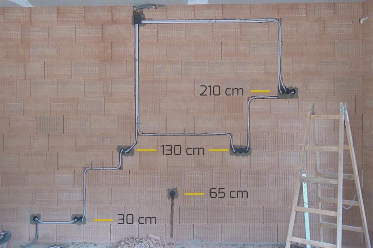 Fabulous Die Höhe von Steckdosen und Schaltern bei der Elektroinstallation VP35