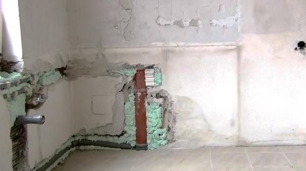 Affordable Die Wand Verputzen Und Wand Spachteln With Wand Im Bad Verputzen.