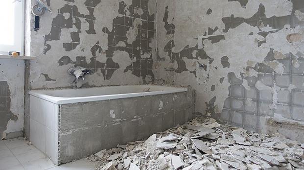 Abriss des alten Bades