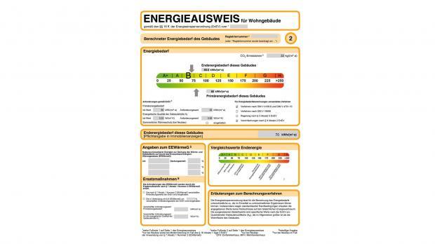 Der Energieausweis in der Übersicht