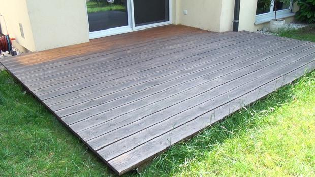 Holzterrasse Reinigen holzterrasse reinigen und entgrauen anleitung diybook at
