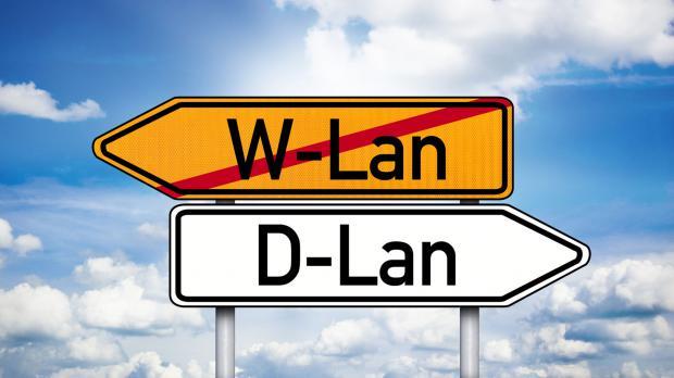 dLAN, wo WLAN nicht mehr hinreicht