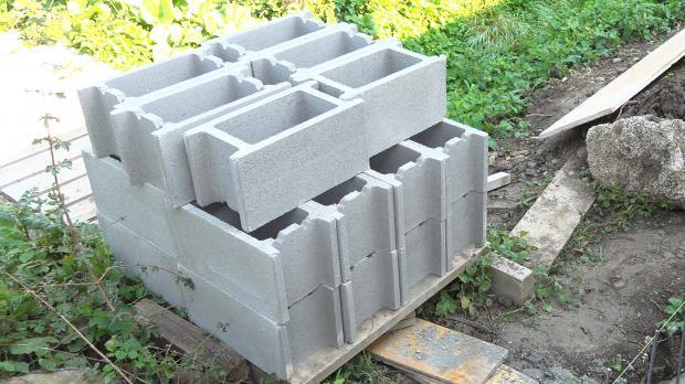 Berühmt Stützmauer aus Schalsteinen betonieren - Anleitung @ diybook.at NH35