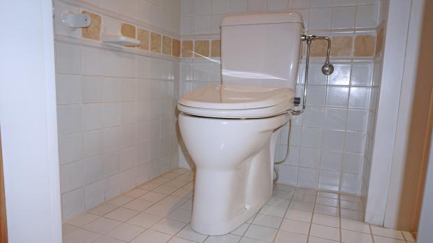 Alte Toilette