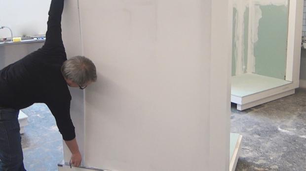 Wand Abmessen Und Einrichten