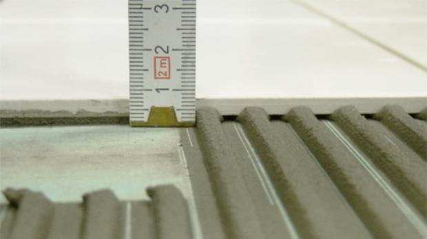 Fußboden Fliesen Kosten ~ Dünnbettverfahren fliesenverlegetechniken im Überblick diybook at