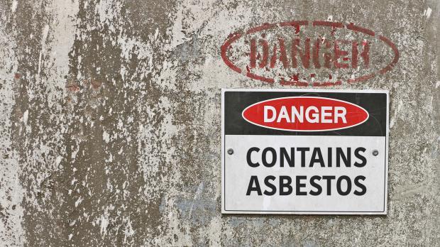 Asbestgefahr auch durch Faserbeton