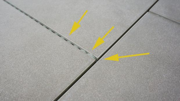 Fußboden Fliesen Neu Verfugen ~ Bodenfliesen verfugen anleitung diybook at